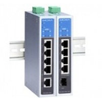 EDS-G205A-4PoE-1GSFP-T Unmanaged Ethernet switch with 1 10