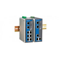 EDS-408A-EIP Managed Ethernet Switch, 5 10/100BaseT(X) ports, Et
