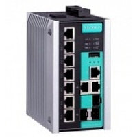 EDS-510E-3GTXSFP Managed Gigabit Ethernet switch with 7 10/100Ba