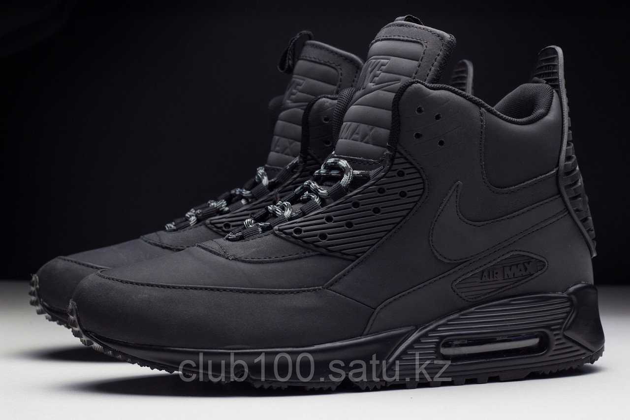 Ботинки Nike Air Max 90 SneakerBoot (черные), фото 1