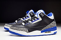 "Кроссовки Air Jordan III(3) Retro ""Sport Blue"", фото 1"
