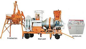 Мобильный асфальтный завод QCQ-20 из Китая 20 тонн/час
