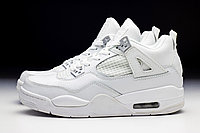 "Кроссовки Air Jordan 4 Retro ""White"" , фото 1"