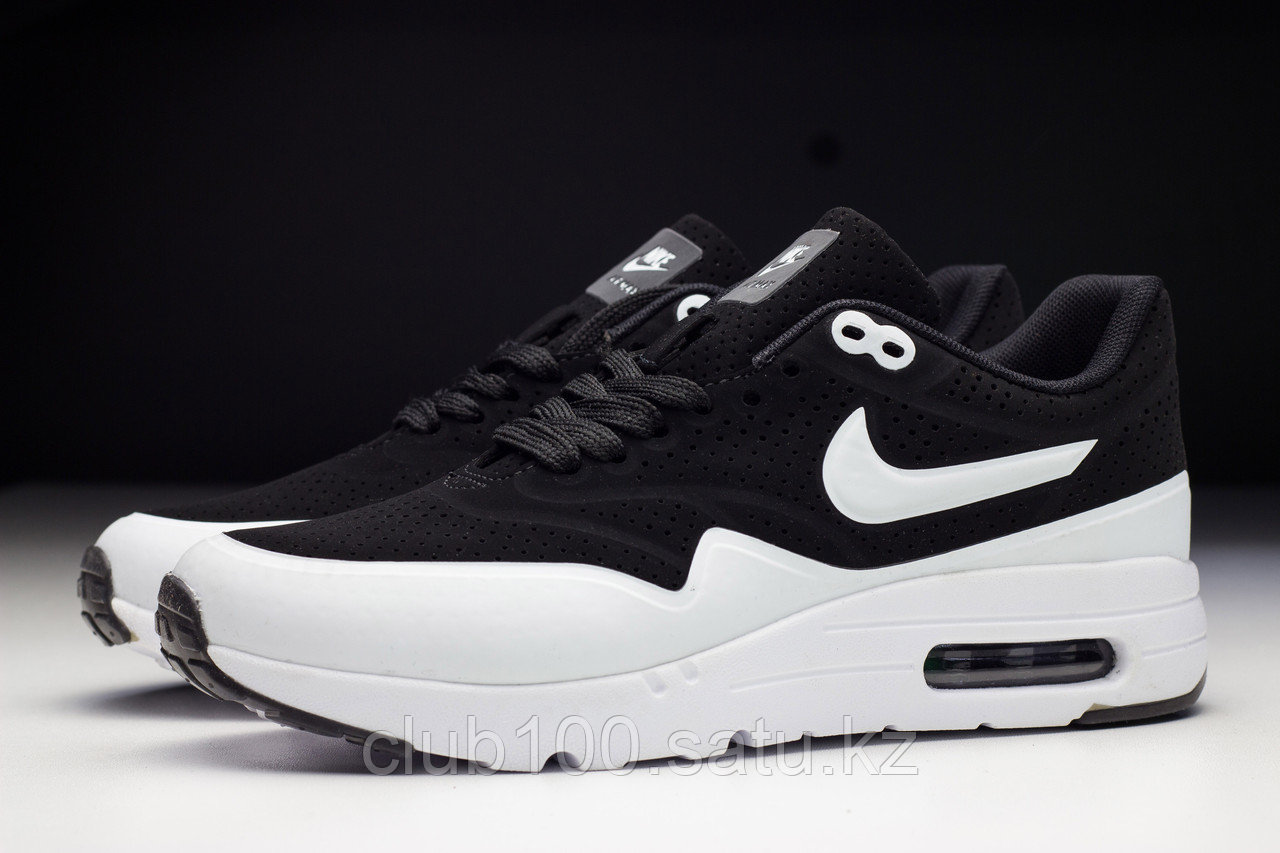 size 40 look for outlet for sale Кроссовки Nike Air Max 1 Ultra Moire CH Black White 37