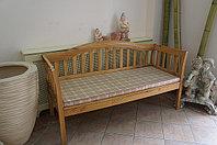 Диван-скамейка садовая