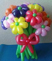 Букет цветов из шаров 9 цветов (разные цвета) в Павлодаре, фото 1