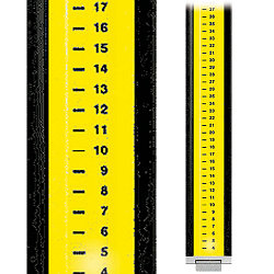 Инварная рейка 182 см, GWL182N