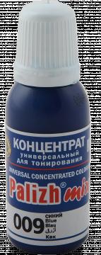 КОЛЕР 009 Синий 20мл концентрат для тонирования «PalizhMix», фото 2