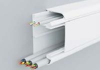 DKC 09500 Кабель-канал 90х50 мм, с перегородкой, боковой и фронтальной крышками