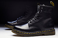 Ботинки Dr. Martens 1460 Black Leather Boots без меха