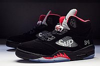 "Кроссовки Air Jordan 5 Retro x Supreme ""Black/Fire/Red"""