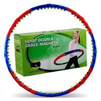 """Обруч овальный, однослойный """"hoop double grace magnetic js-6003"""""""