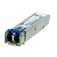 100Base-FX Industrial SFP transceiver with an LC type interface.