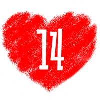 Скидка -14% в честь дня всех влюбленных!