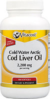Cold Water Arctic Cod Liver Oil 2200 mg