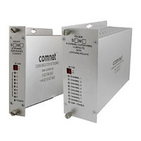 8 Channel Contact Closure Receiver, Non-Latching, mm, 1 fiber