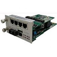 Modular, SNMP manageable, 1 optical/electrical fast Ethernet over 4 E1 inverse multiplexer, optical FE port (s