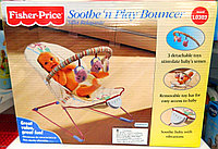 *Fisher-Price Баунсер-Вибростульчик