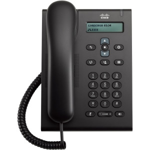 Cisco Unified SIP Phone 3905, Charcoal, Standard Handset - Ruba Technology в Алматы