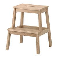 Табурет-лестница БЕКВЭМ береза 50 см. ИКЕА, IKEA