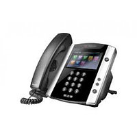 VVX 600 16-line Business Media Phone with built-in Bluetooth and HD Voice. Compatible Partner platforms: 20. P