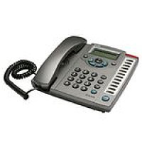 VoIP Phone PoE support SIP, 2 10/100BASE-TX Fast Ethernet, LCD display, memory function keysУстаревшая модель