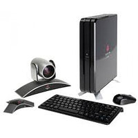 CX7000 HD System. Includes System Unit, EagleEye III Camera, HDX Mic Array (w/ Cable), German QWERTZ Keyboard/