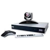 RealPresence Group 700-1080p: Group 700 HD codec, EagleEye III camera, mic array, univ. remote, NTSC/PAL. Cabl