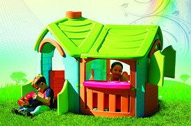 Пластиковые игровые домики для детей