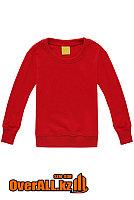 Детская красная толстовка-свитшот, фото 1