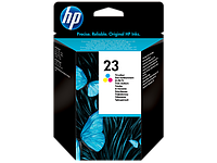 Картридж HP C1823D Tri-color Inkjet Print Cartridge №23XL for DeskJet 710/815/1120, 30 ml, up to 650 pages, 15%. ;
