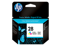 Картридж HP C8728AE Tri-color Inkjet Print Cartridge №28 for DJ3325/3420/1205/1215/4255/3840/3745, 8 ml, up to 190 pages. ;