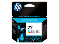 Картридж HP C9352AE Tri-color Inkjet Print Cartridge №22 for Deskjet F2180/F380/F4180/4355/1410/J5520/3940/D246, 5 ml, up to 165 pages. ;