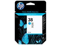 Картридж HP C9415A Cyan Pigment Ink Cartridge Vivera №38 for Photosmart Pro B9180/B9180gp, 27 ml, up to 4500 pages. ;