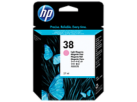 Картридж HP C9419A Light Magenta Pigment Ink Cartridge Vivera №38 for Photosmart Pro B9180/B9180gp, 27 ml, up to 440 pages. ;
