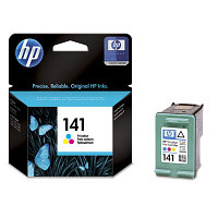 Картридж HP CB337HE Tri-color Inkjet Print Cartridge №141 for PhotoSmart C4283/C5283/D5363/J5783/D4263, 3.5 ml, up to 170 pages. ;