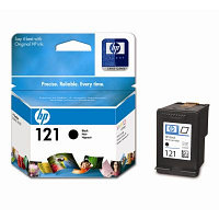 Картридж HP CC640HE Black Ink Cartridge №121 for Deskjet F4283/D2563/D1663/F2423, 4 ml, up to 200 pages. ;