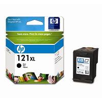 Картридж HP CC641HE Black Ink Cartridge №121XL for Deskjet F4283/D2563, 12 ml, up to 600 pages. ;