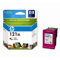 Картридж HP CC644HE Tri-Colour Ink Cartridge №121XL for Deskjet F4283/D2563, 11 ml, up to 440 pages. ;
