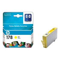 Картридж HP CB320HE Yellow Ink Cartridge №178 for PhotoSmart C6383/8553/D5463/C5383, up to 250 pages. ;