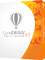 CorelDRAW Home & Student Suite X7 BOX