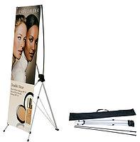 Х-баннер, х-паук, мобильный стенд, фото 1