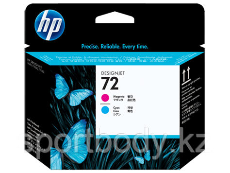 HP C9383A Magenta and Cyan Printhead №72 for DesignJet T1100/T1100ps/T610