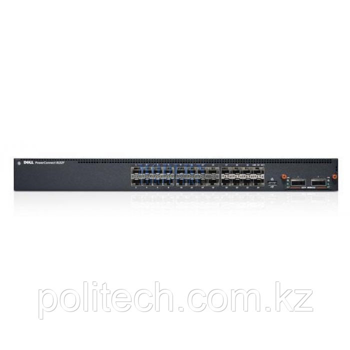 Switch Dell/PowerConnect 8132F, 24 * 10GbE SFP + Ports, up to 32 max via 40GbE Uplink Module/24 port