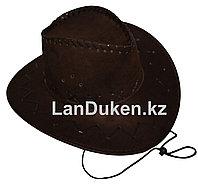 Карнавальная шляпа ковбоя (коричневая)