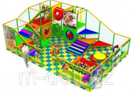 Купить:Внутренний игровой комплекс - лабиринт «Карусель»
