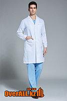 Классический мужской медицинский халат, фото 1