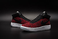 Кроссовки Nike Air Force 1 Mid Flyknit 2016 Red (36-44), фото 3