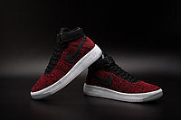 Кроссовки Nike Air Force 1 Mid Flyknit 2016 Red (36-44), фото 4