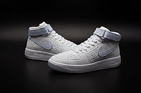 Кроссовки Nike Air Force 1 Mid Flyknit 2016 White (36-44), фото 3
